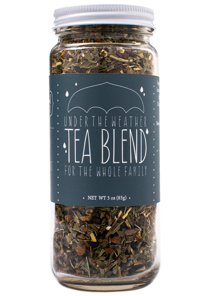 under the weather tea blend to boost immune system and fight infection