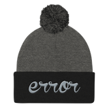 error 3d knit cap