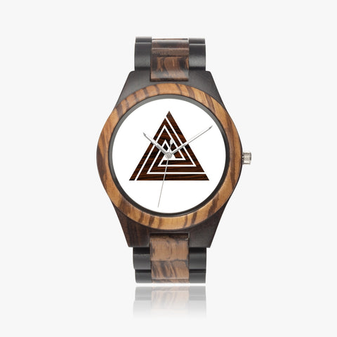 error icon Indian Ebony Wooden Watch