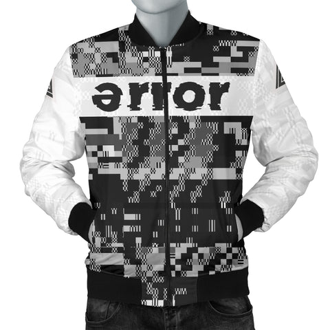 v.2 error 8-bit bomber jacket