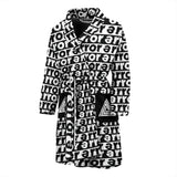 Mens error bath robe
