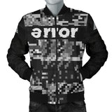 v.1 error 8-bit bomber jacket