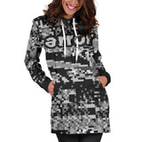 ERROR 8-BIT BETA HOODIE DRESS