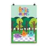 The Bumble Nums Poster