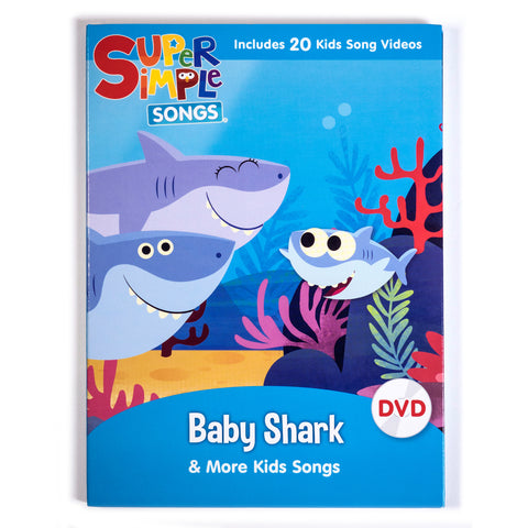 Baby Shark & More Kids Songs - DVD - Super Simple Songs