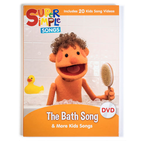 The Bath Song & More Kids Songs - DVD - Super Simple Songs
