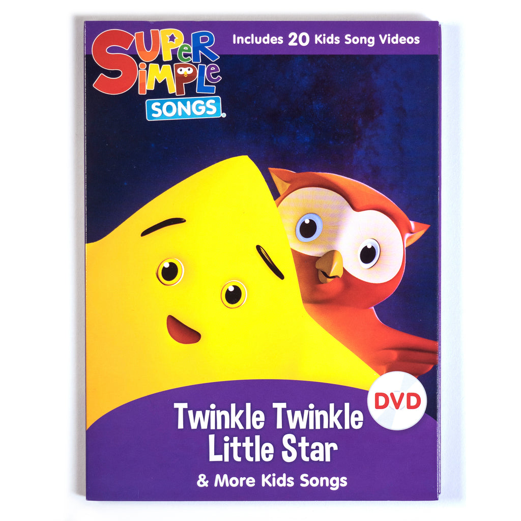 Twinkle Twinkle Little Star & More Kids Songs - DVD - Super Simple Songs