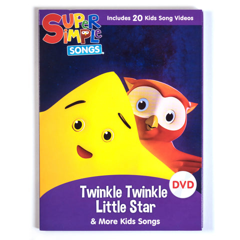 Twinkle Twinkle Little Star & More Kids Songs - DVD - Super Simple