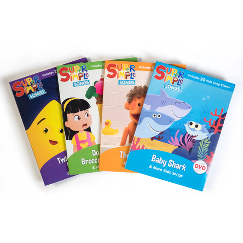 Super Simple Songs Complete DVD Bundle