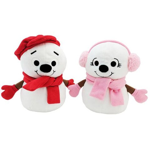 Little Snowflake Snowboy & Snowgirl Official Plush - Super Simple Songs