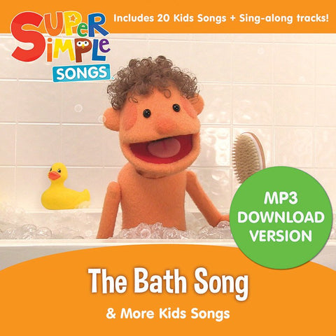 The Bath Song & More Kids Songs - Audio Download - Super Simple