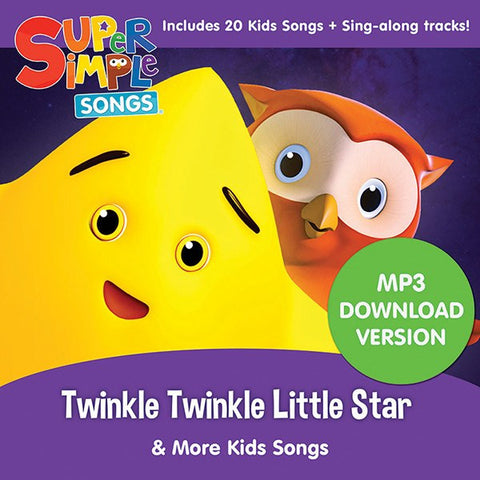 Twinkle Twinkle Little Star & More Kids Songs - Audio Download - Super Simple