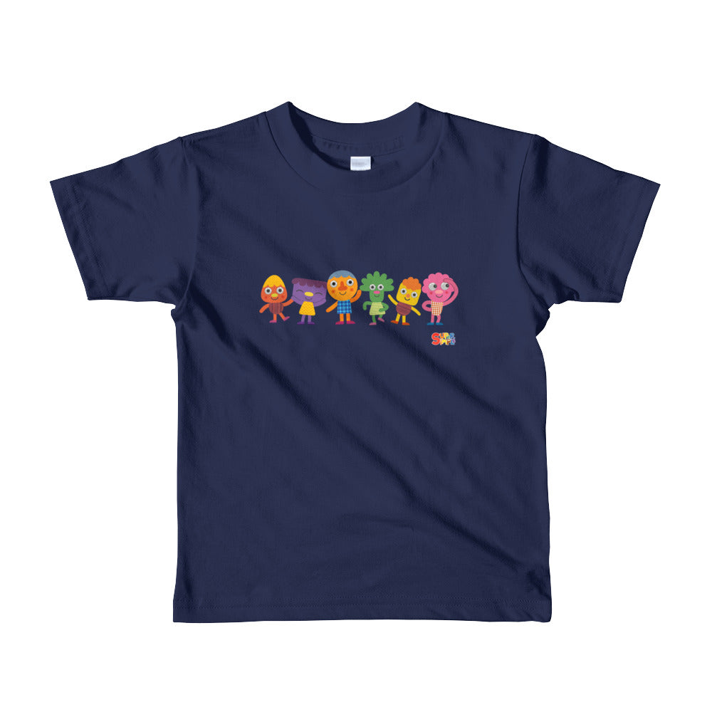Noodle & Pals Group Kids T-Shirt - Super Simple