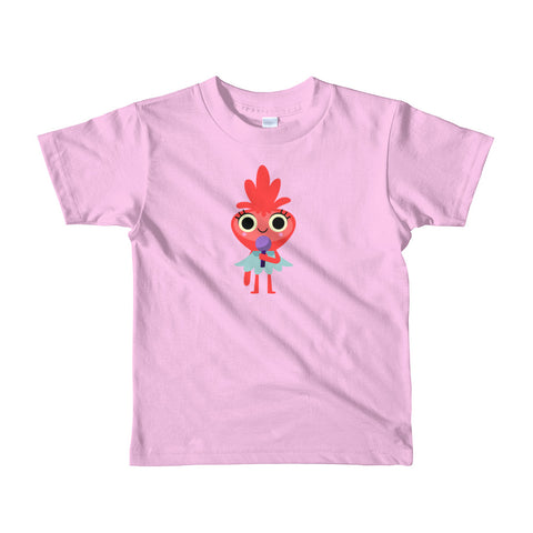 Red Monster Kids T-Shirt - Super Simple