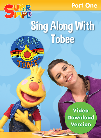 Sing Along With Tobee - Part 1 - Video Download - Super Simple