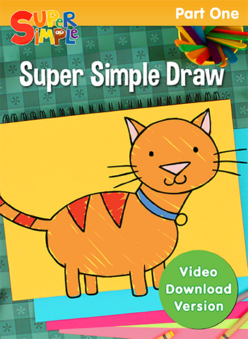 Super Simple Draw - Part 1 - Video Download - Super Simple