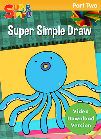Super Simple Draw - Part 2 - Video Download - Super Simple