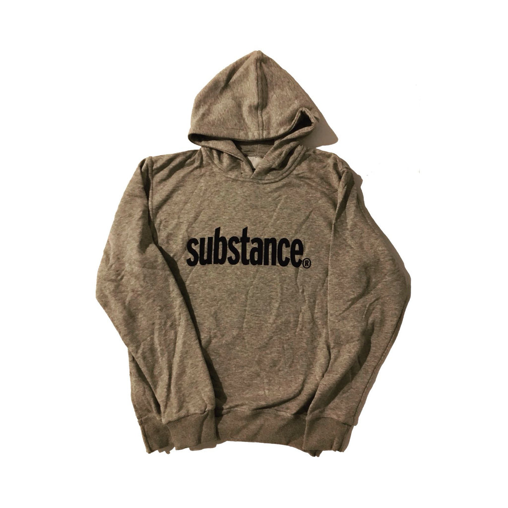 12 STEPS HOODIE GRAY - KONTROLLED SUBSTANCE