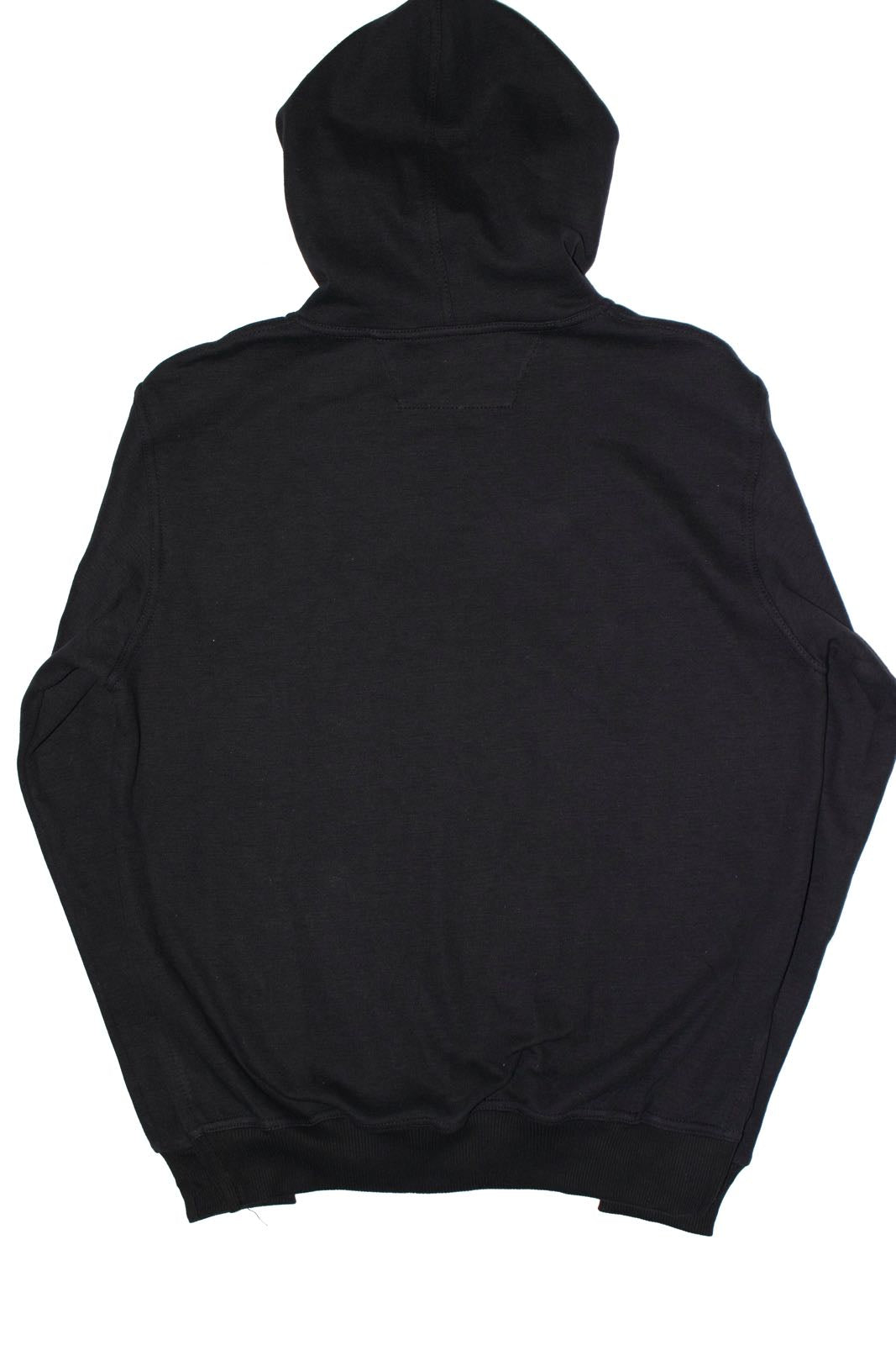 12 STEPS HOODIE BLACK - KONTROLLED SUBSTANCE