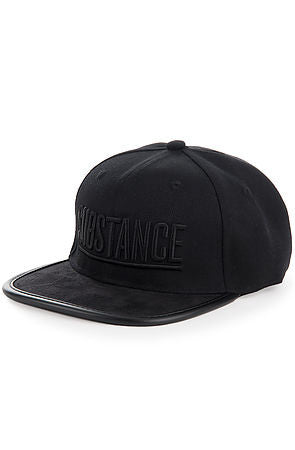 BLVCKOUT STRAPBACK - BLACK - KONTROLLED SUBSTANCE