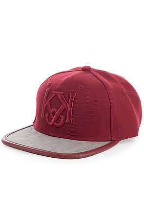GRAY AREA STRAPBACK - BURGUNDY - KONTROLLED SUBSTANCE