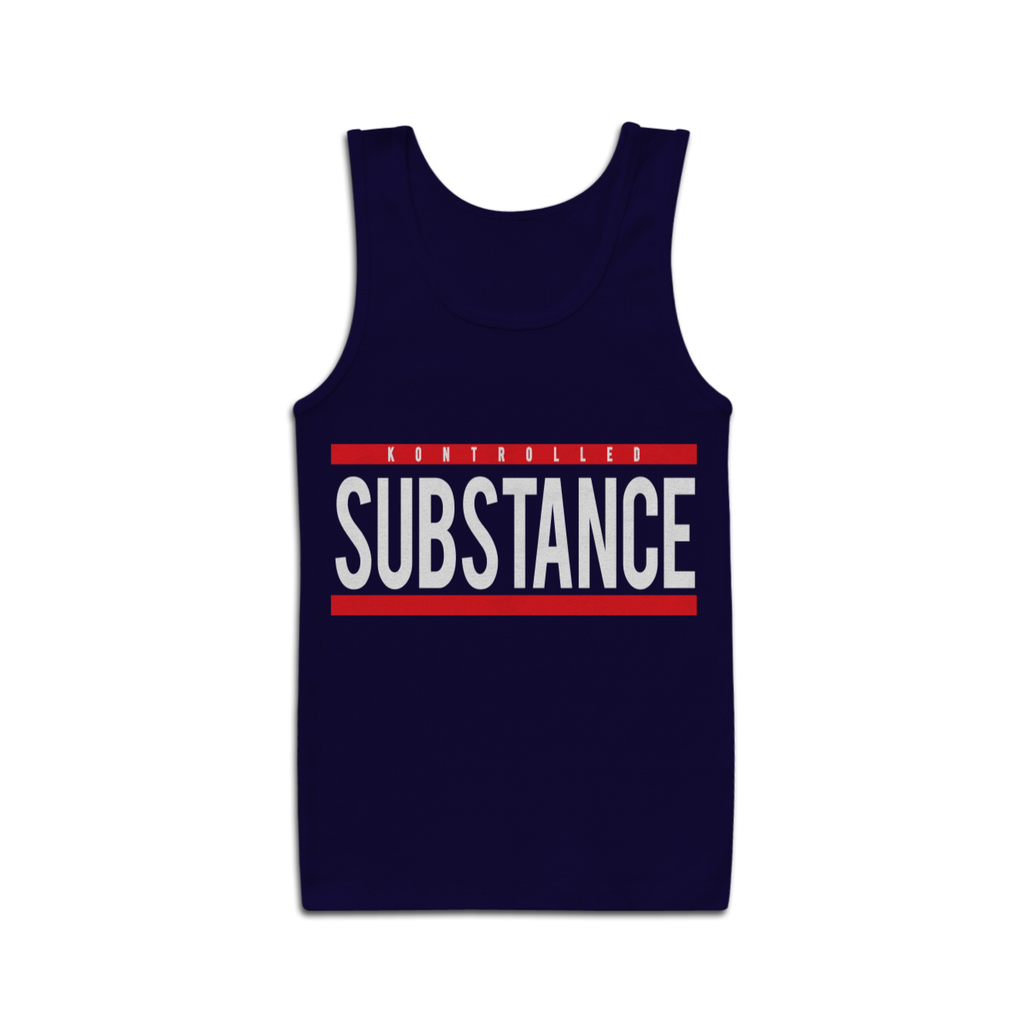JUST SUBSTANCE - NAVY - KONTROLLED SUBSTANCE