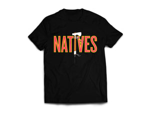 Natives Tee (Black) - KONTROLLED SUBSTANCE