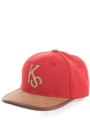 SANDSTORM STRAPBACK - RED - KONTROLLED SUBSTANCE