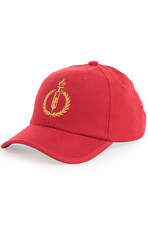 "TORCHED ""DAD"" HAT - RED - KONTROLLED SUBSTANCE"