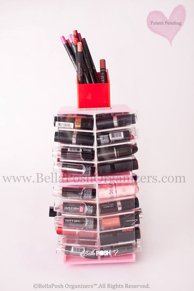 Spinning Lipstick Tower (PINK)