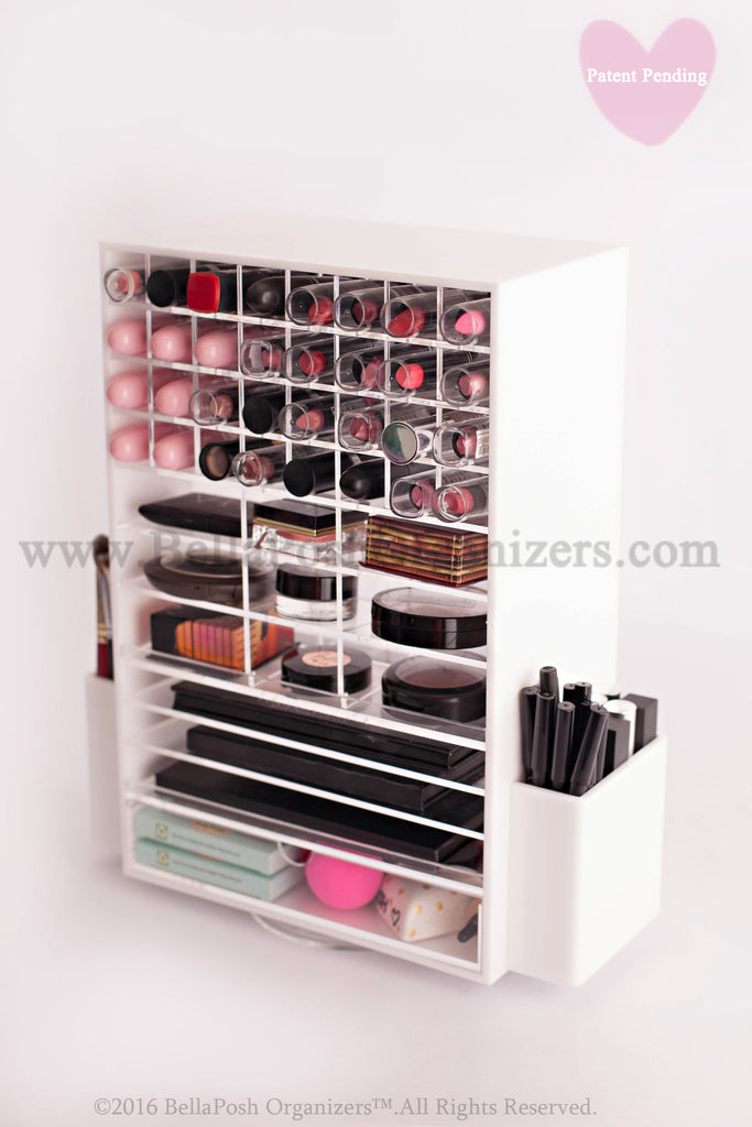 Spinning Makeup Tower   (WHITE)