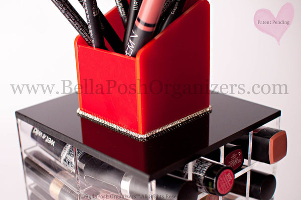 Spinning Lipstick Tower (BLACK)