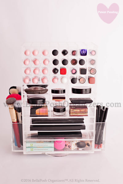Spinning Makeup Tower  (CLEAR)