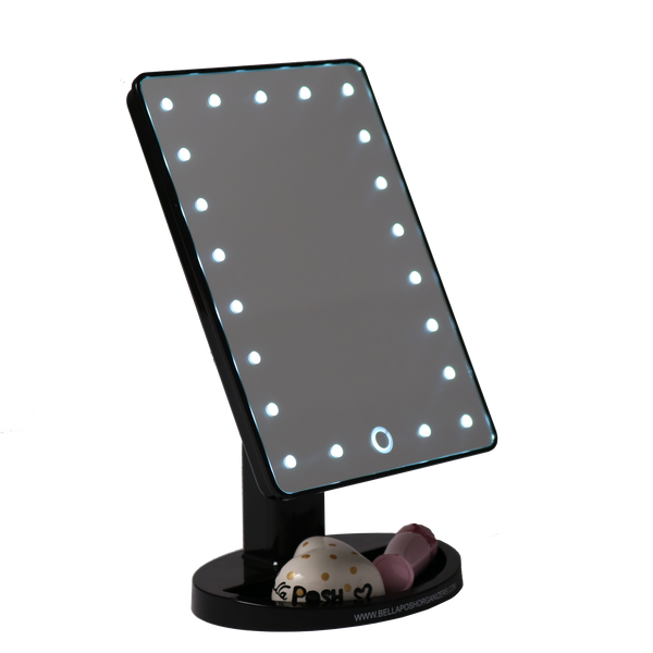 Portable Led Vanity Mirror Bellaposh Organizers