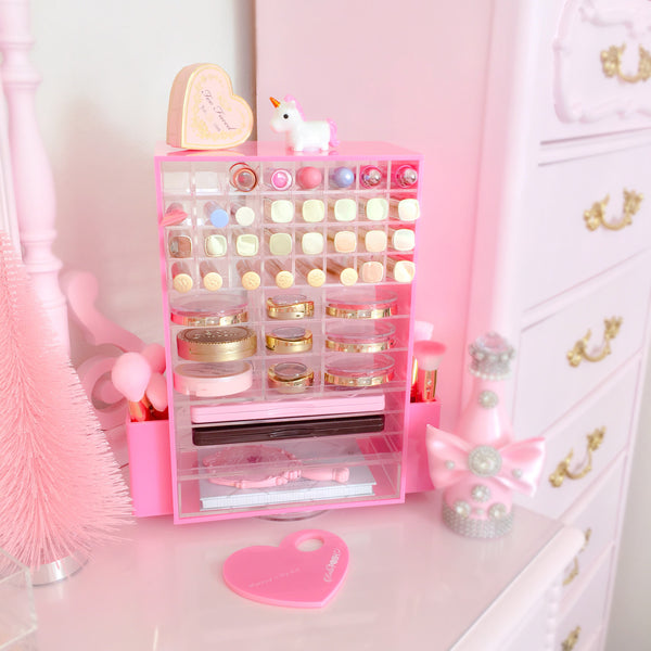 Spinning Makeup Tower   (PINK)