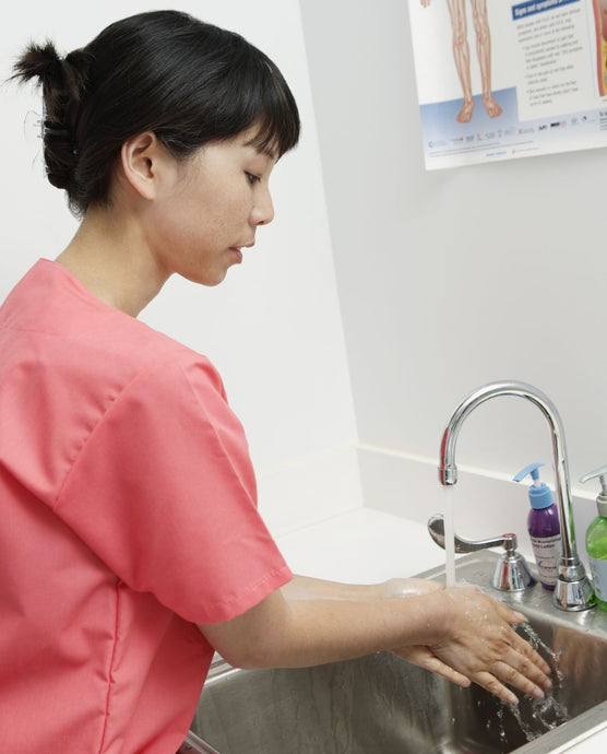 Healthcare workers often struggle with dry skin from handwashing