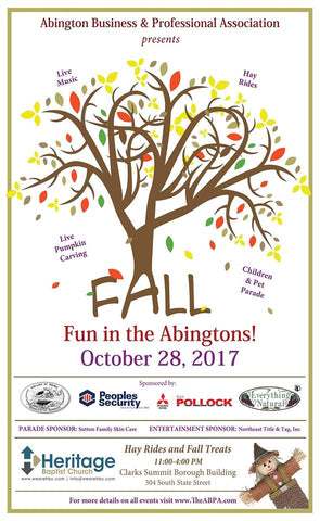 Fall Fun Fest in the Abingtons