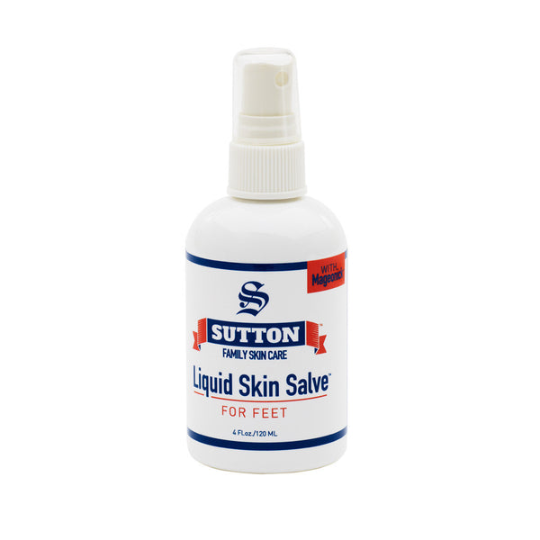 Liquid Skin Salve for Feet | Sutton Family Skin Care