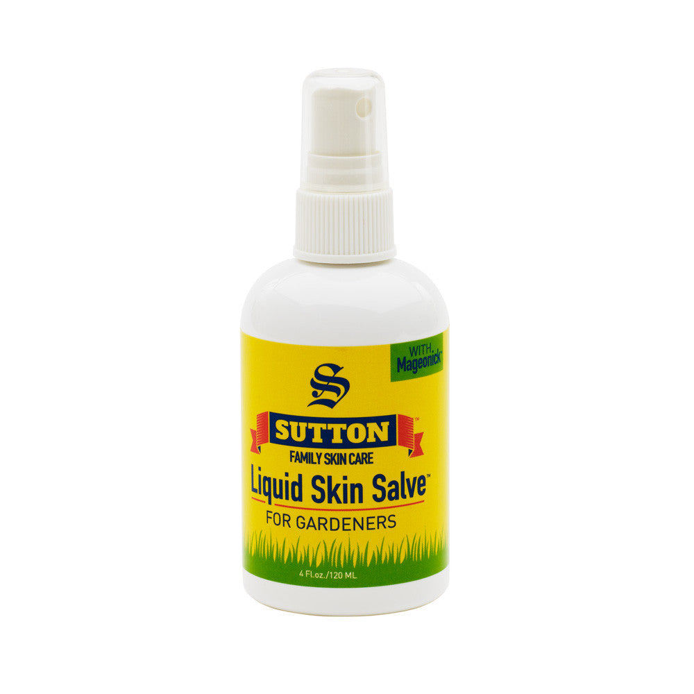 Liquid Skin Salve for Gardeners | Sutton Family Skin Care