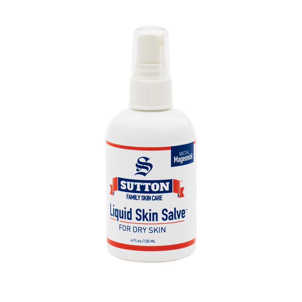 Liquid Skin Salve for Dry Skin | Sutton Family Skin Care