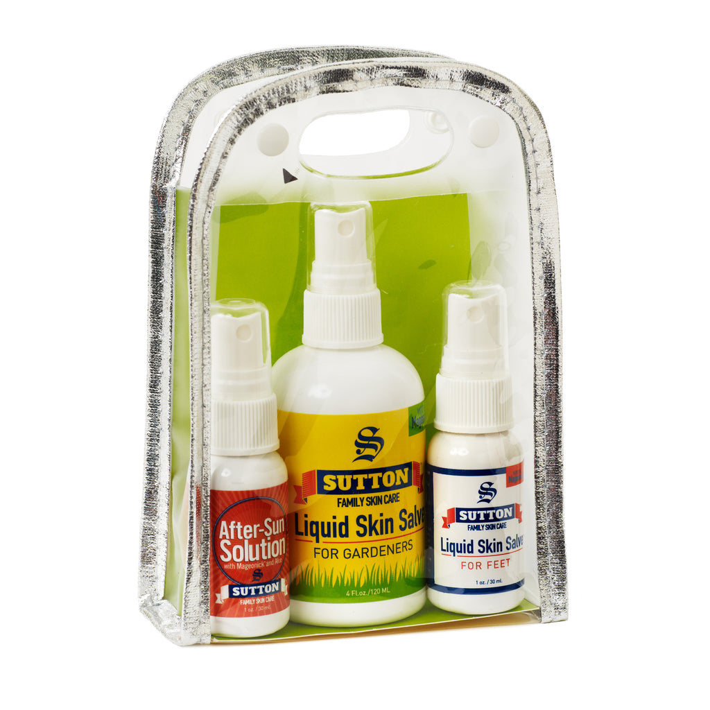 Liquid Skin Salve Gardener Set | Sutton Family Skin Care