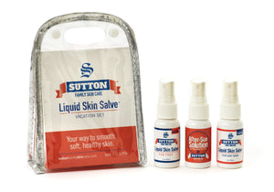 Liquid Skin Salve Vacation Skin Care Set | Sutton Family Skin Care