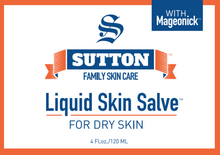 Load image into Gallery viewer, Liquid Skin Salve for Dry Skin | Sutton Family Skin Care