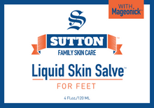 Load image into Gallery viewer, Liquid Skin Salve for Feet | Sutton Family Skin Care