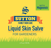 Load image into Gallery viewer, Liquid Skin Salve for Gardeners | Sutton Family Skin Care
