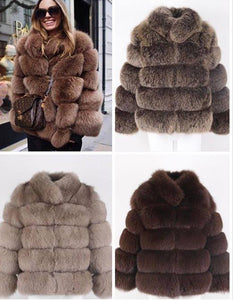 2019 COLLARED BEST PRICE BEST QUALITY FOX FUR WINTER THICK COAT GILLET VEST JACKET