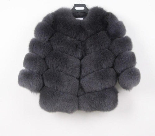 2018  BEST PRICE BEST QUALITY FOX FUR WINTER THICK COAT GILLET VEST JACKET