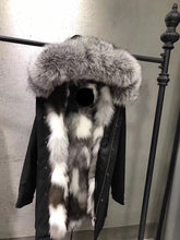 2018  High Quality Real raccoon fur Hood vest parka coat spring jacket Bomber