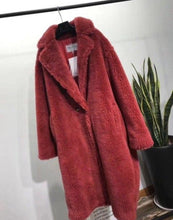LATEST BEST SELLING TEDDY LONG SHEARLING REAL FUR COAT JACKET