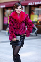 2019 HIGH QUALITY FOX FUR MIMOSA PURE FUR COATS JACKETS
